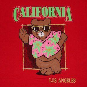 90's Los Angeles California Vacation Bear Shirt